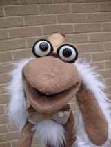 My muppet style puppet