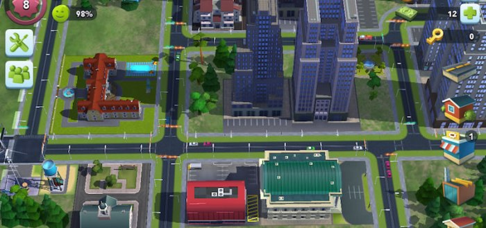 Simcity BuildIt iOS