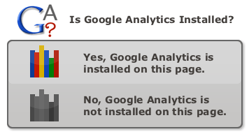Google Analytics Check