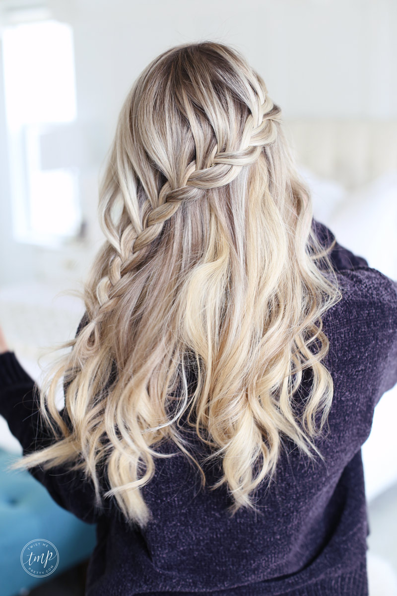 Fall Wallpaper Lace Braid Tutorial For The Holidays Twist Me Pretty