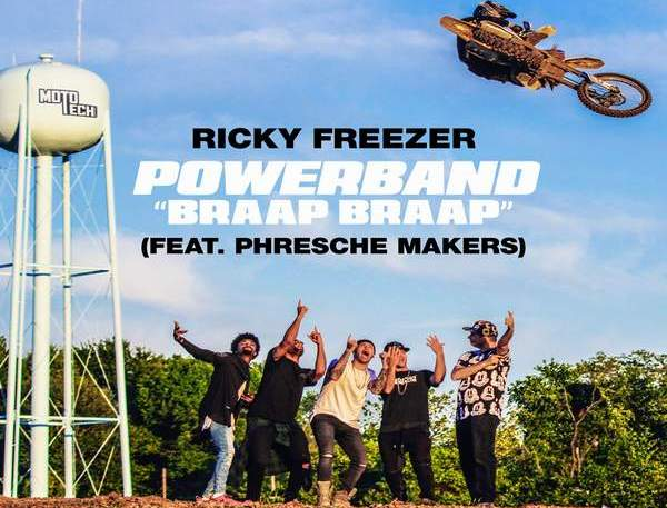 Ricky Freezer - Powerband (Braap Braap)