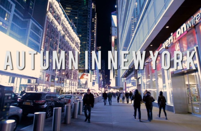 XavierTainment is back with 'Autumn In New York'