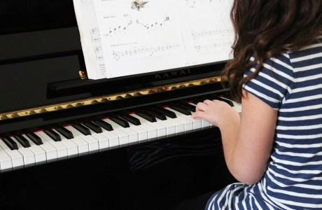 Kids in Music Lessons