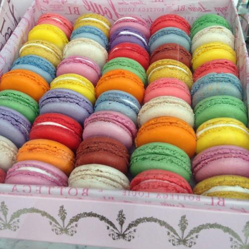 Macarons at Bottega Louis