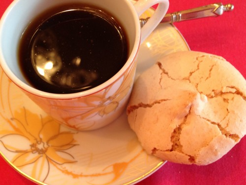 Amaretti & espresso