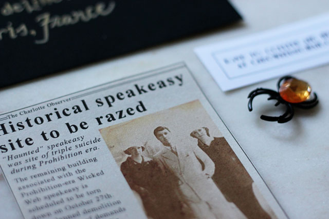 A Haunted Speakeasy Invite 4 | Two Delighted