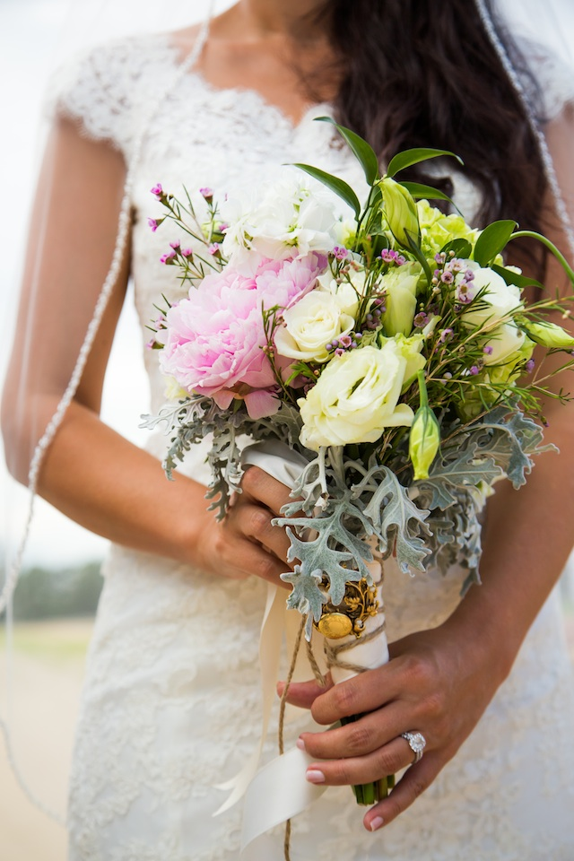 Ginny wedding bridal bouquet | Two Delighted