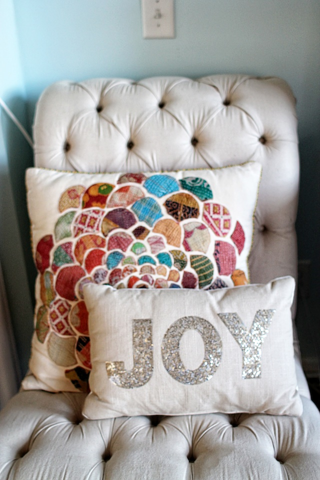 happenings 11.18 pillow Two Delighted