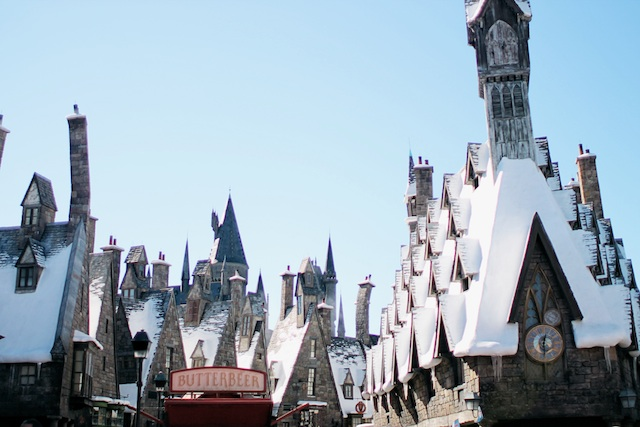 hogsmeade rooftops Two Delighted