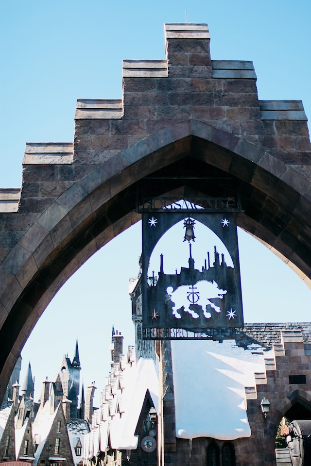 hogsmeade sign Two Delighted