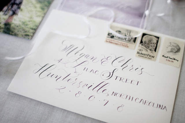 Save the date envelope blog