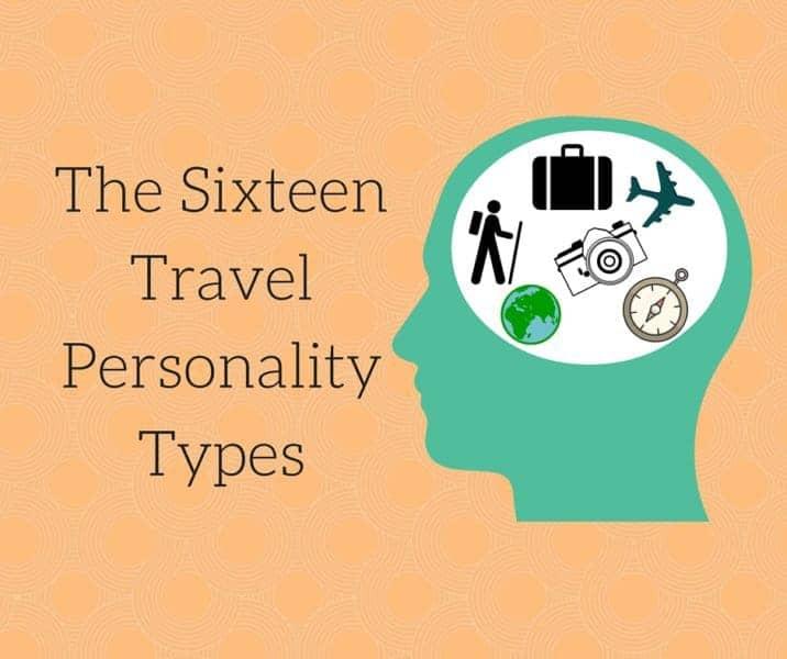 The SixteenTravel PersonalityTypes
