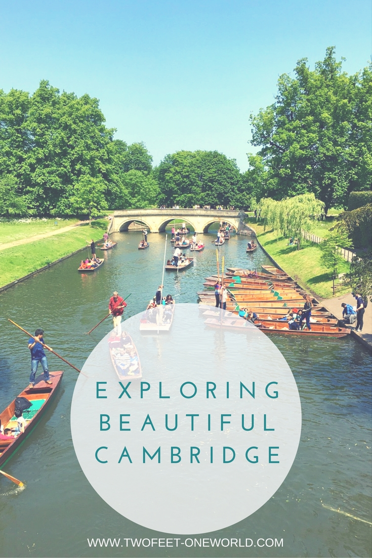 Exploring Cambridge - Two Feet, One World