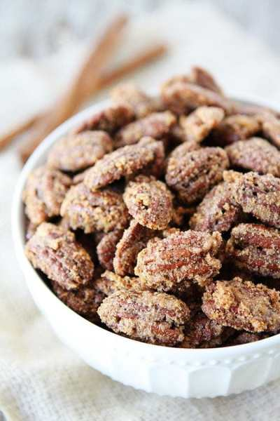 Candied Pecans Recipe | Two Peas & Their Pod