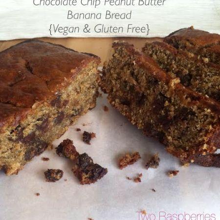 Chocolate Chip PB banana bread