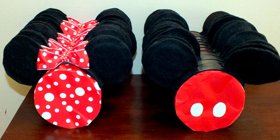 DIY Mickey  Minnie Mouse Ears - Two Sisters