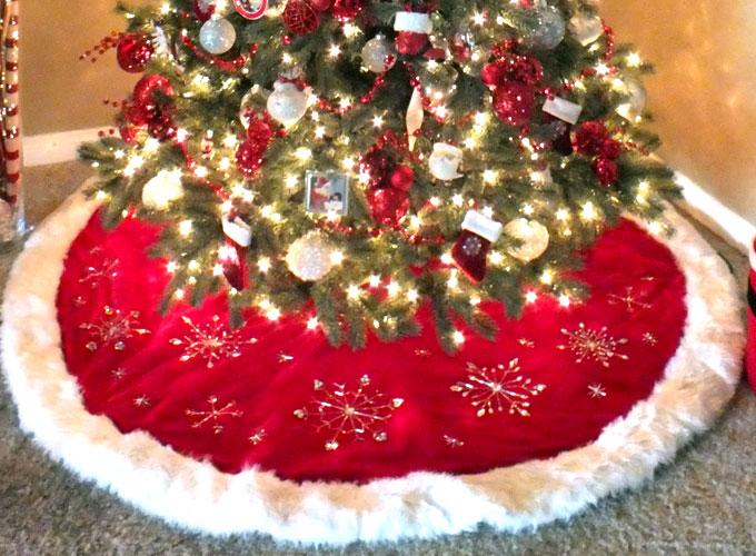 costco christmas tree skirt - Rainforest Islands Ferry - costco christmas decorations
