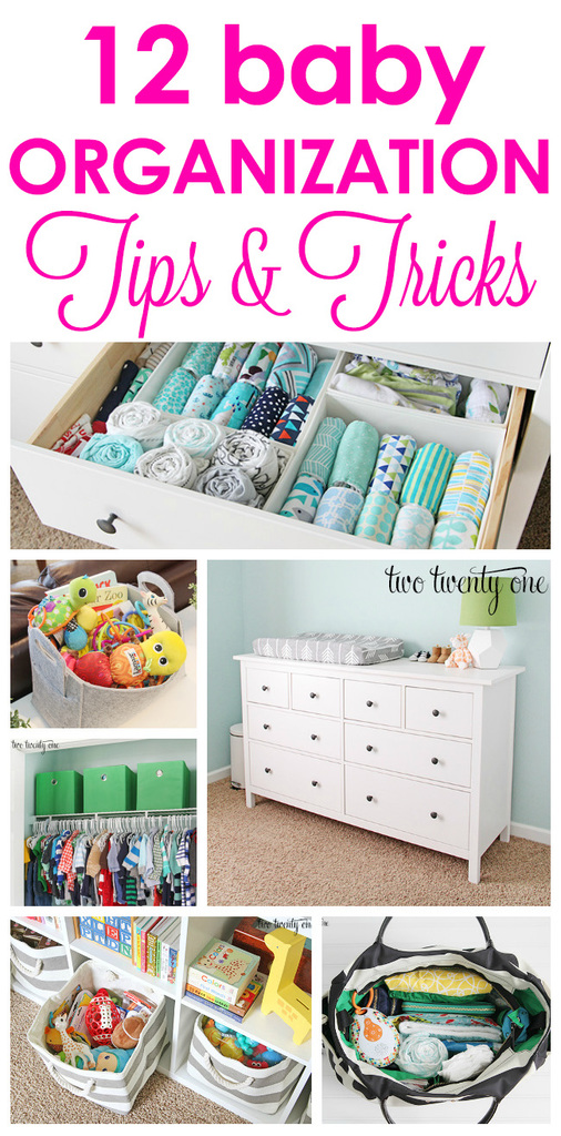 12 baby organization tips and tricks to make life easier