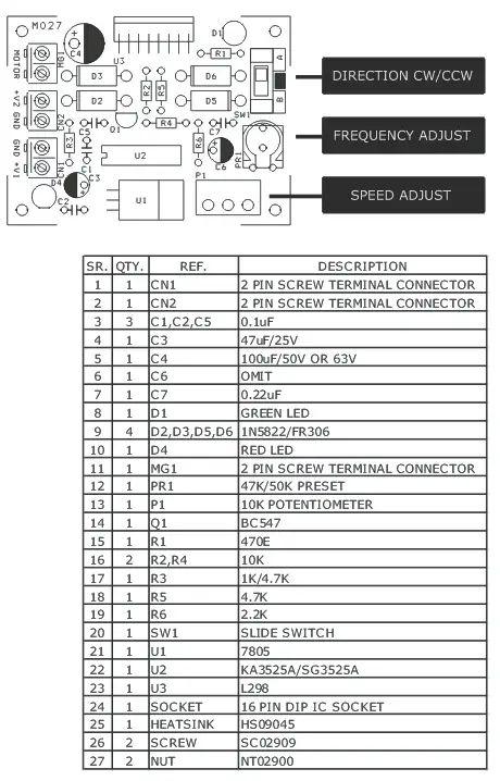 sg3525 dc converter 12v to 35v 35v