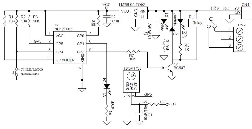 channel dc remote controller 1