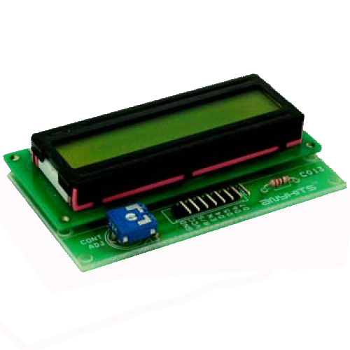16X2 LCD Module PCB Layout  Schematic - Circuit Ideas I Projects I
