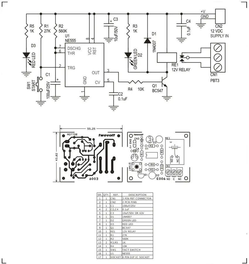 spdt relay output