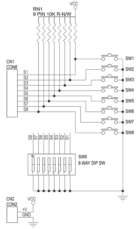 dip switch schematic