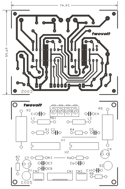 stepper motor driver circuit on unipolar stepper motor driver circuit