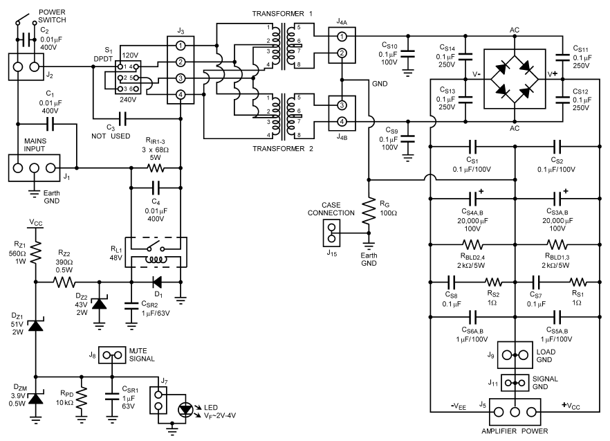 picture of the driver circuit scematic