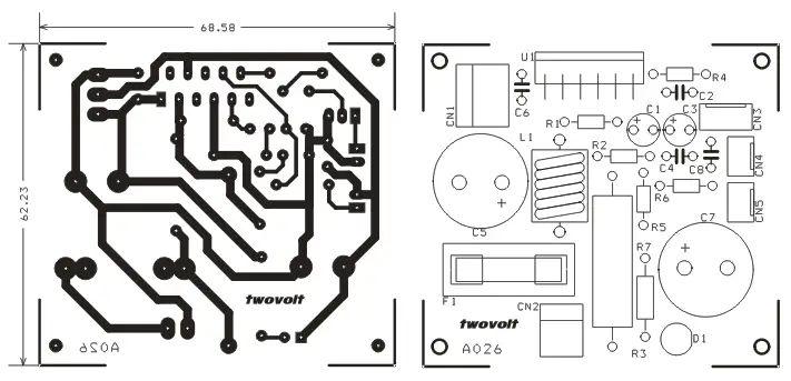 68w lm3886 amplifier