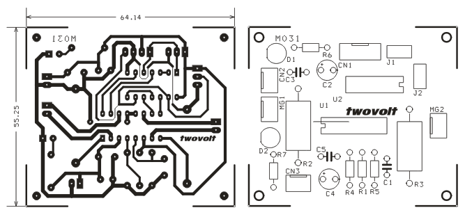 bridge circuitry and flyback diodes