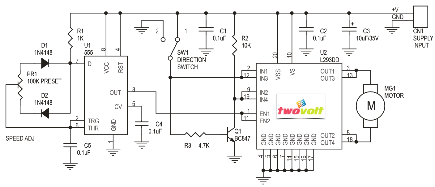 bidirectional speed controller