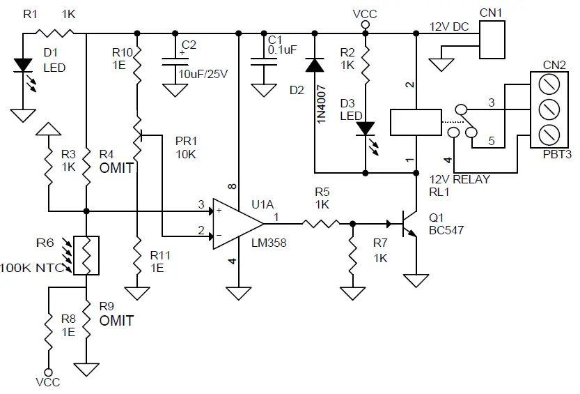 charge pump circuit board