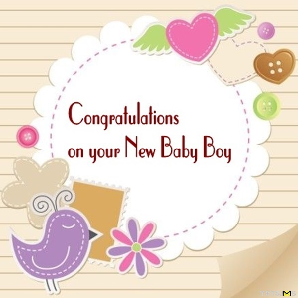 Congratulations for Newborn Baby Boy, Quotes, Wishes, Messages