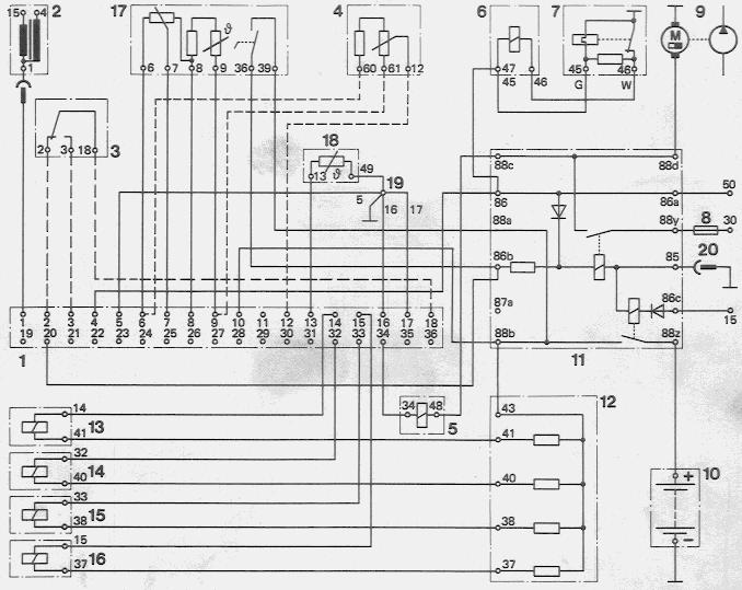4 pin relay wiring diagram air injection