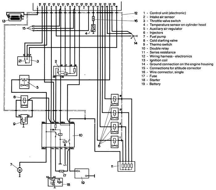 1970 vw wiring installation