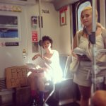 Free Poetry on the Metro
