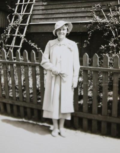 Nana as a young woman.