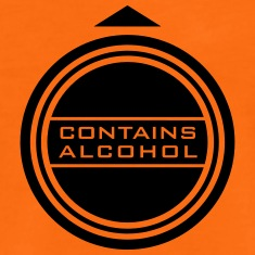 -contains-alcohol-(b,-1c)-T-Shirts
