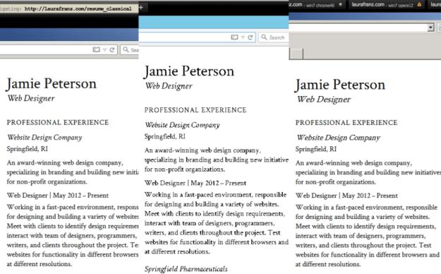 test fonts cross browser