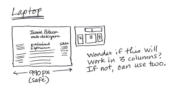 Exercise » Resume (Set Complex Text) Typographic Web Design 3