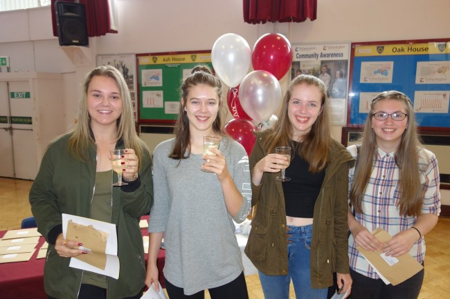 Year 11 toast record results