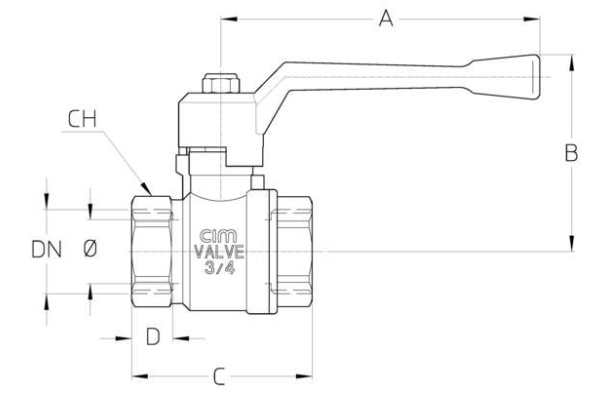 diagram of water check valve