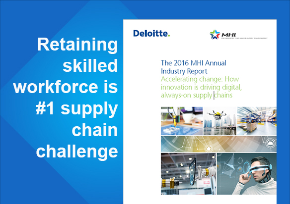 Employee Retention Strategies is #1 Supply Chain Challenge