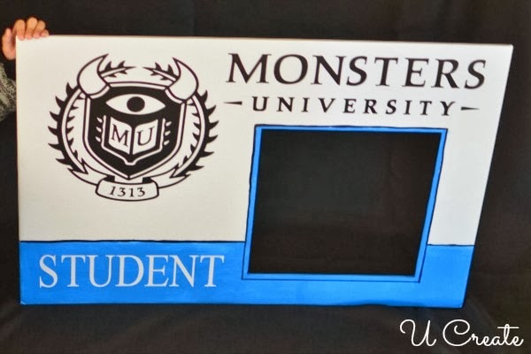 Monsters University Student ID Card Photo Prop - U Create
