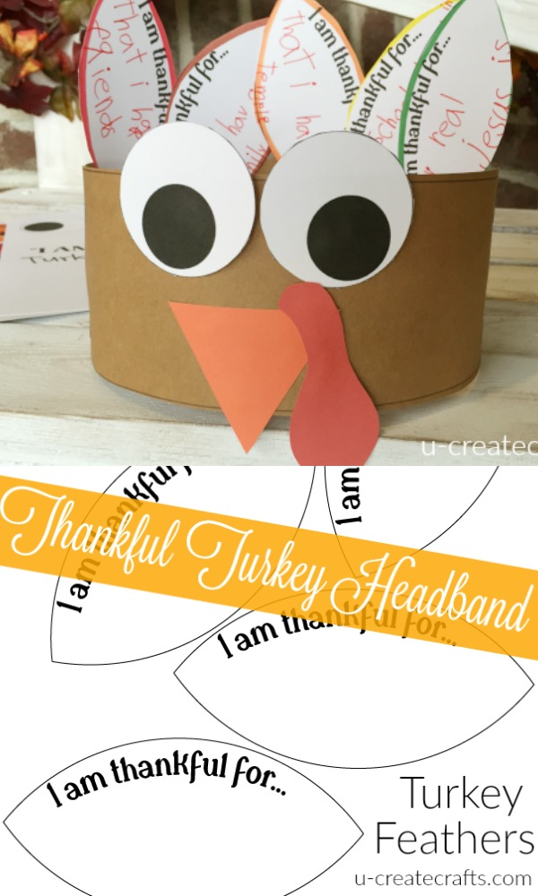 Thankful Turkey Headband - U Create