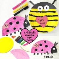 Valentine Paper Plate Crafts - U Create