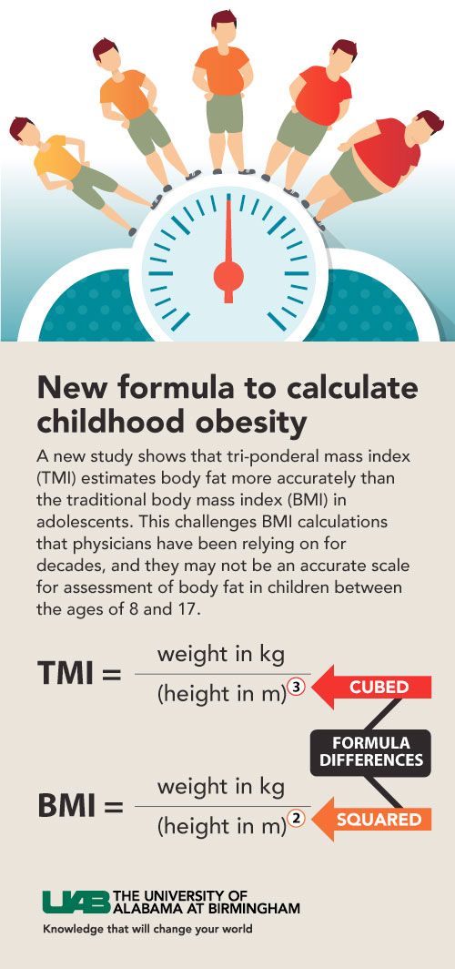 UAB - News - Better than BMI Study finds more accurate way to - bmi calculation formula