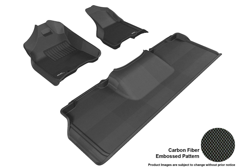 Maxpider 3d Rubber Molded Floor Mat For Dodge Ram 2500