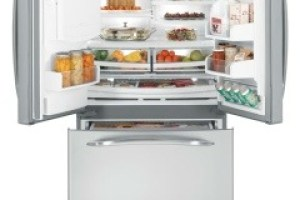 New French Door Refrigerators from GE